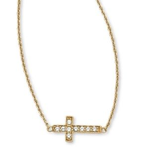 Adoration Cross Necklace